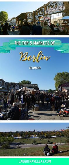 Berlin is the place where I fell in love with markets. I've become addicted to flea markets and normal markets alike and I'll share my top 5 with you: