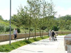 Water-retention Boulevard | Luxembourg | ELYPS Landscape + Urban Design