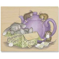 """Chamomile Tea"" from House-Mouse Designs® (HMPR1072). This item was recently purchased off from our web site, www.house-mouse.com. Click on the image to see more information."