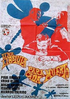 "Una libélula para cada muerto (Leon Klimovsky, 1973) starring Paul Naschy, ""A Dragonfly For Each Corpse,"" A. K. A. Red Killer"