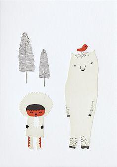 Polar Bear by Brizida Ahrnsbrak