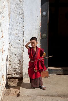 The Young Monk | Bhutan