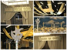 Heaven on Earth Prom Décor by www.idealpartydecorators.com