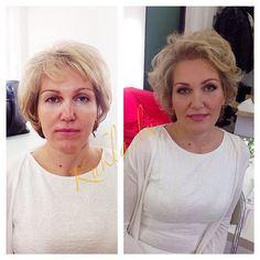 Прическа и макияж для фотосессии