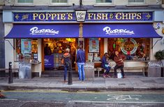 Poppie's Fish & chips. Highly recommended