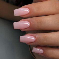 May 2020 - pale pink nude long nails Summer Acrylic Nails, Best Acrylic Nails, Baby Pink Nails Acrylic, Neutral Acrylic Nails, French Acrylic Nails, Acrylic Nail Shapes, Pale Pink Nails, Short Pink Nails, Light Pink Nails