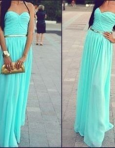 Mint Colored Bridesmaid Dresses Love With Gold