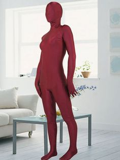 ==> [Free Shipping] Buy Best Maroon Lycra Spandex Zentai Suits Online with LOWEST Price   32236716239