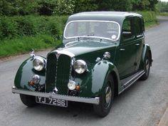 Rover 12 Saloon (1939) Retro Cars, Vintage Cars, Antique Cars, Car Rover, Auto Rover, British Sports Cars, British Car, Cars Uk, Car Car