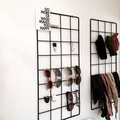 organizing accessories in your walking closet