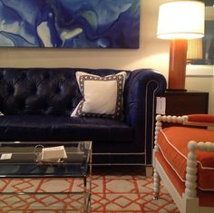 Two Twists on the Classic Chesterfield by CR Laine — High Point Fall Market 2013