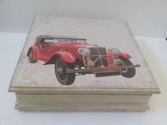 Caixa com papel scrap book Litoarte e papel relevo