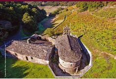 Igrexa de San Facundo de Ribas de Miño (Paradela) Iglesias, Nature, Travel, Vernacular Architecture, Architecture, Naturaleza, Viajes, Destinations, Traveling