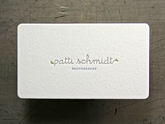 Passing-Notes design, letterpress printed by Studio On Fire   Business Card Design