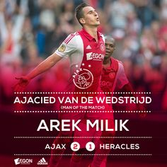 APOELGROUP.COM: Με 2 γκολ του Πολωνού Milik, ο Ajax πέρασε το εμπό...