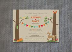 woodland invitation - Google Search