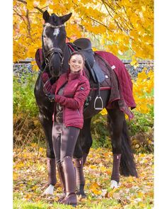 Equestrian Outfits, Equestrian Style, Tall Leather Boots, Leather Pants, Horse Riding, Riding Boots, Riding Breeches, Horse Girl, Rain Wear