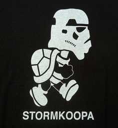 Koopa. Trooper. In the end, it's the same thing. (Star Wars meets Super Mario Bros.)