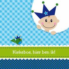 Design Birth Announcement / Geboortekaartje by D-sign08  www.kaartje2go.nl