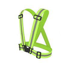 Cheap Sale High Visibility Reflective Safety Security Belt For Night Running Walking Biking Good Heat Preservation Men's Belts
