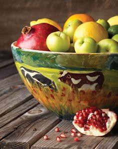 Vietri - countryside bowl!