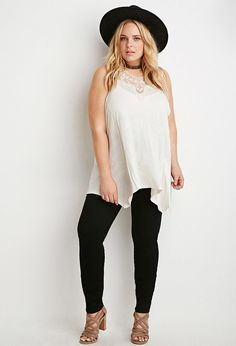 Plus Size High-Waisted Skinny Jeans (Regular)