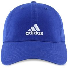 adidas Cotton Saturday Cap ($18) ❤ liked on Polyvore featuring accessories, hats, navy, cotton hat, navy cap, adidas, navy hat and adidas cap