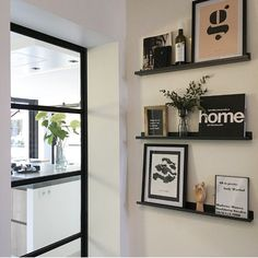 Hall - A look inside Woonbydjo - take a look inside Woonbydjo inspiration - Interior Design Living Room, Living Room Designs, Living Room Decor, My New Room, Interior Design Inspiration, House Design, House Styles, Home Decor, Trap