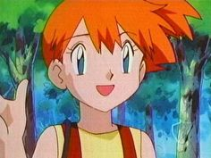 Vote Best Female Cartoon And Anime Characters - Misty, Pokemon Misty Dawn, Ash And Misty, Pokemon Couples, Pokemon People, Misty From Pokemon, What Is Anime, Sexy Pokemon, Female Cartoon, Ondine