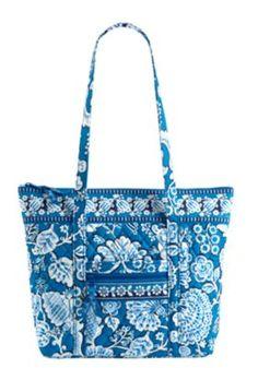 Vera Bradley Villager handbag - Blue Lagoon