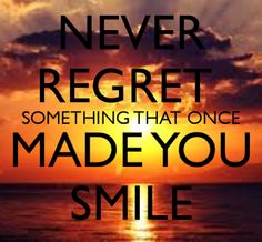 Never regret something that once made you smile. #meet #connect #explore #byber
