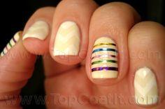 Easter stripes & chevrons