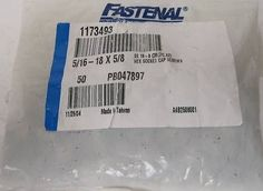 Fastenal 516 Hex Socket Cap Screws 1173493IB Bag of 50 Model * Check this awesome product by going to the link at the image.