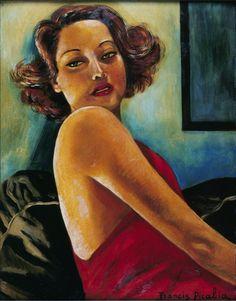 Picabia - Portrait of Viviane Romance
