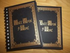 ONCE UPON A TIME JOURNAL-I want one of these!!!!!!!!