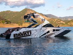 The Pavati wake boat is a best-in-class, all-aluminum, wakesurfing, boarding, or ski boat with a lifetime warranty. Fast Boats, Cool Boats, Speed Boats, Power Boats, Wakeboarding, Wakeboard Boats, Boat Wraps, Ski Boats, Yacht Boat
