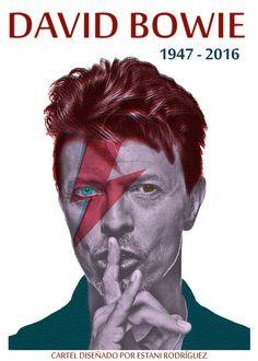 Ilustraciones tributo a David Bowie | Ilustración y Animación | Domestika
