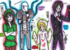 Once again anither sketchy creepypasta fan art. I hope it's not getting too annoying  well the candy took FOREVER to draw URGH. I tryed to make it as accurateas possible but I'm not a m...