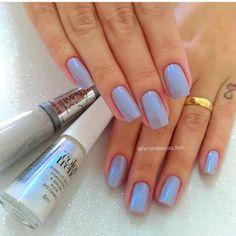 Of Course the Most-Loved Nail Polish of All Time - Beradiva Matte Nails, Pink Nails, Super Nails, Perfect Nails, Simple Nails, Winter Nails, Trendy Nails, Manicure And Pedicure, Natural Nails