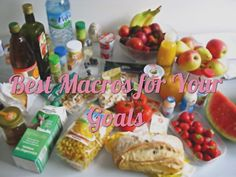 Best Macros For Your Goals #iifym #macros #weightloss #musclegain | mamawithabarbell.com