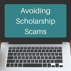 There are scholarship scams out there. Check out these red flags to avoid when s… - College Scholarships College Fund, Financial Aid For College, College Planning, College Hacks, School Scholarship, Scholarships For College, Student Loans, College Counseling, Education College