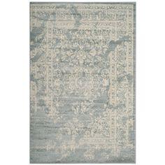 Adirondack Slate/Ivory (Grey/Ivory) 6 ft. x 9 ft. Area Rug