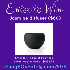 Celebrating 50,000 FB Group Members – a giveaway #jasmine #diffuser