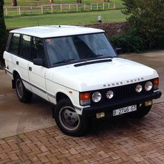One owner 1985 Range Rover Classic Vogue