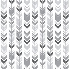 mod baby » herringbone arrows grey fabric by misstiina on Spoonflower - custom fabric