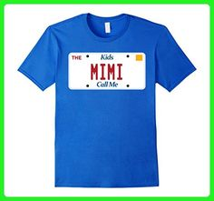 Mens Mimi t-shirt; mom mommy tshirt; mothers day birthday tee Medium Royal Blue - Holiday and seasonal shirts (*Amazon Partner-Link)