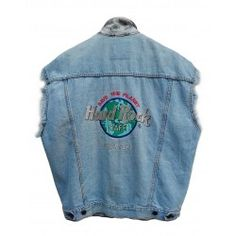 Gilet Hard Rock Cafe denim Gilet Denim, Rock Cafe, Hard Rock, Jackets, Fashion, Down Jackets, Moda, Fashion Styles, Fashion Illustrations