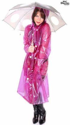Igelitové kalhoty a plen. Girls Raincoat, Raincoat Jacket, Plastic Raincoat, Yellow Raincoat, Hooded Raincoat, Hooded Cloak, Rain Jacket, Imper Pvc, Rain Bonnet