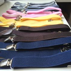 You can find all these suspenders along with many other colors !!