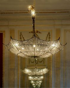 stunning huge umbrella crystal chandelier ideas, Photo  stunning huge umbrella crystal chandelier ideas Close up View.